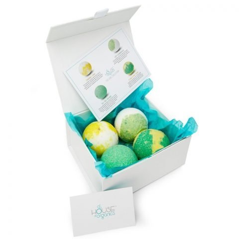 Organic Bath Bomb Set The Chill Collection